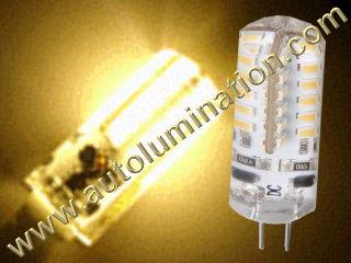 3 watt 2 Pin G4 Bi-Pin Led Bulb Replaces 891 7371 7373 7382 Warm White
