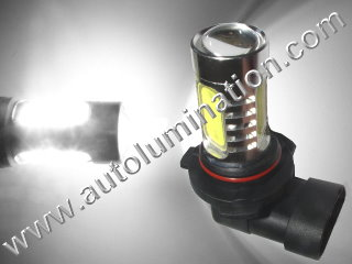 9040 9140 9145 H10 PY20D 6000K Super White LED 12 Watt High Powered Headlight Bulb