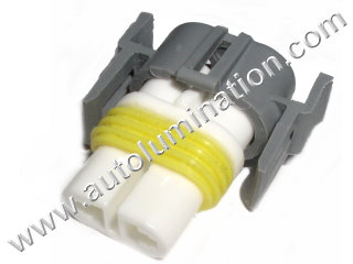 H9 PGJ19-5  Female Headlight Socket Connector Pigtail