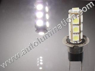 H3C 13 Led 6000K 8000k White Bulb