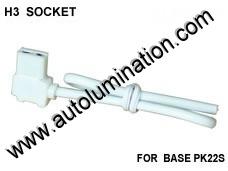 H3 Headlight Socket Pigtail