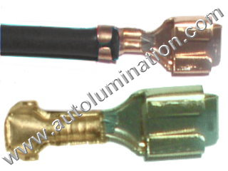 H4 P43t 9003 Female Socket Terminal Contact