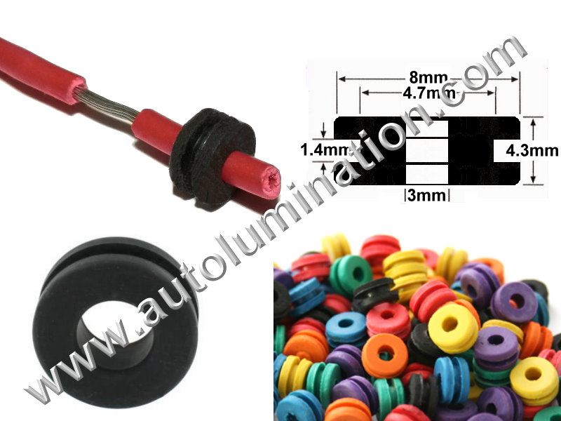 Silicone Wire Sealing Plugs H Grommet Seal
