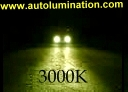 Headlights HID 3000K