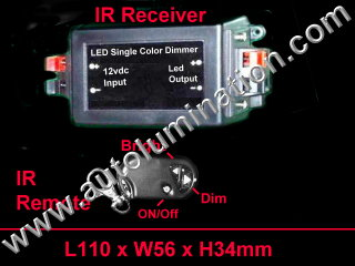 Led Remote Control Dimmer