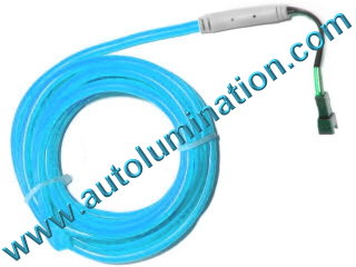 Neon KPT EL Wire Tubing Light Blue