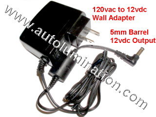 Neon Tubing 12vdc Power Adapter