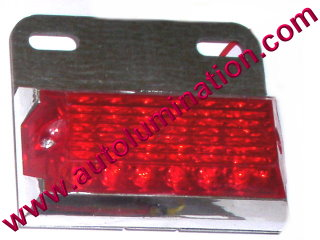 Dual Ciircuit Truck Trailer Side Marker 12 Led Light Red