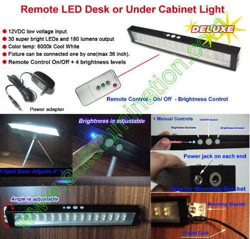 Led Undercounter Desk Light