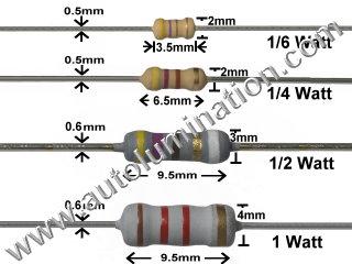 Resistors for Leds