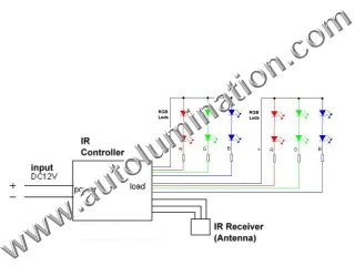Led rgb_controller schematic