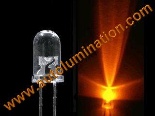 3mm 5mm Round Raw Led Orange