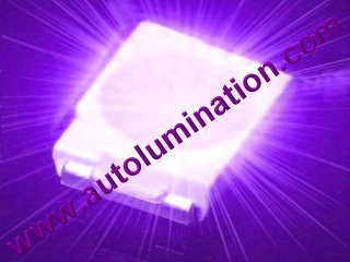 Purple SMT Led