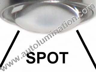 Spot Lens Led 5 watt cree Tail Light Bulb