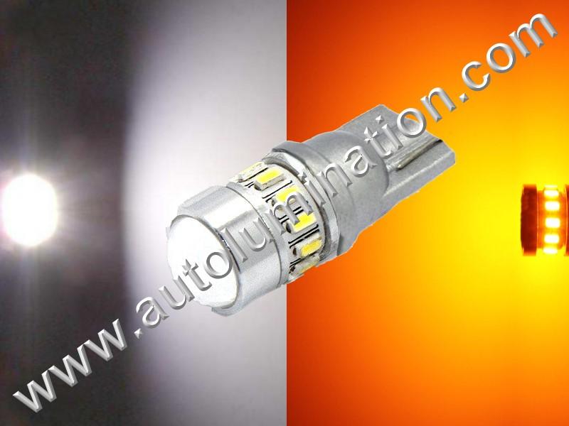 2825 194 161 168 Switchback White Amber 5630 6 led Bulb