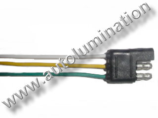 3 Wire Way Trailer Connector Male Female