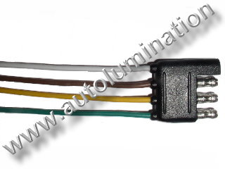 4 way Trailer Connector Male Female