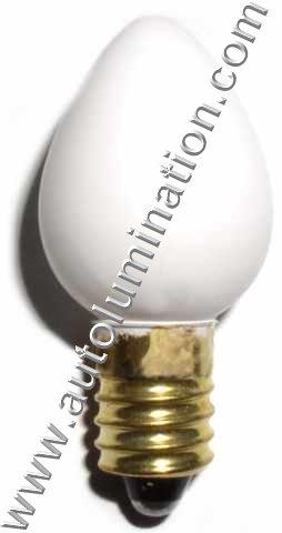 1442 White  Glass E10 Base C6 Globe Lionel Street  Light 1442-300