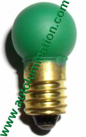 432 Lionel Bulb E10 18 Volt G4-1/2 G4.5 432gp Green Painted 432-300
