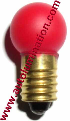 432 Lionel Bulb E10 18 Volt G4-1/2 G4.5 432rp Red Painted 432-300
